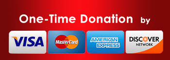 One-time donation with credit/debit card or bank account